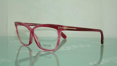 f70dc8eb50 TOM FORD FT 5267 077 PINK CAT EYE Frames Eyeglasses SIZE 54 ...