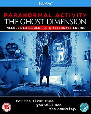 PARANORMAL ACTIVITY - THE GHOST DIMENSION (BD)  Blu-Ray NUEVO