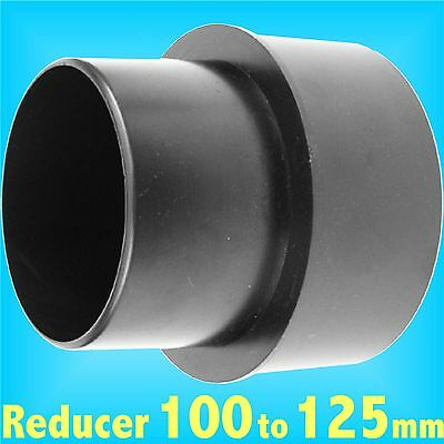 Reducer 100mm to 125mm for Dust Extraction Hose Charnwood SIP Record extractor
