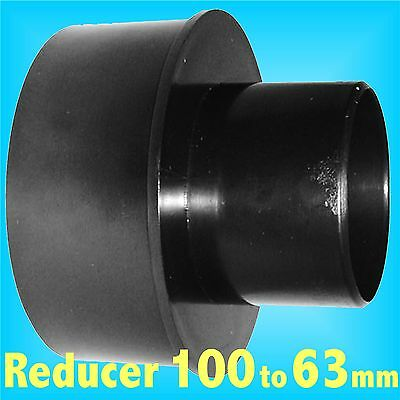 Reducer 100mm to 63mm for Dust Extraction Hose Charnwood SIP Record extractor
