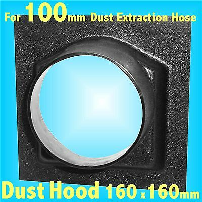 160mm Dust Hood for 100mm Dust Extraction Hose Charnwood SIP Record extractor