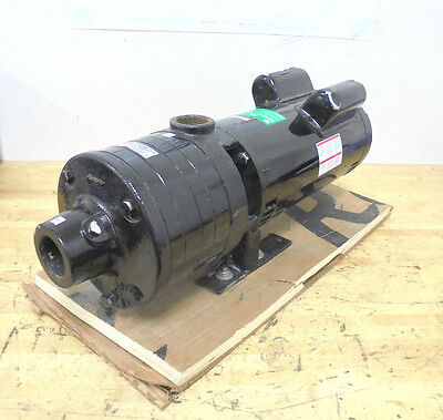 3 HP Pressure Booster Pump 1 Phase 230 Voltage 1-1/2 In Inlet 1-1/4 In. Outlet