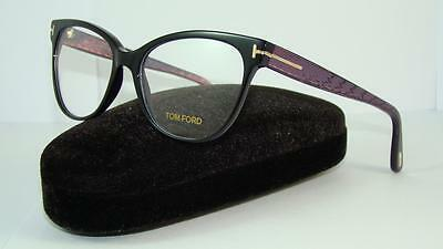 9c11fcd995 Tom Ford FT 5291 005 Black Glasses Brille Frames Eyeglasses Size 55
