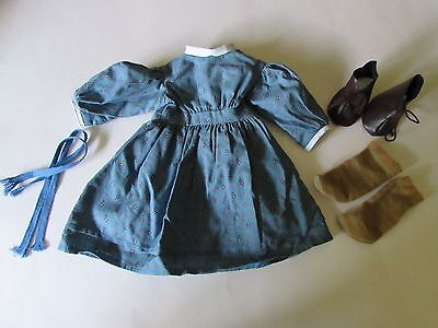 Pre-Mattel Pleasant Co American Girl Kirsten Meet Outfit - Hungary Dress