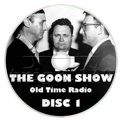 The GOON SHOW (OTR) 182 Episodes - Old Time Radio Comedy Collection (2 x mp3 CD)