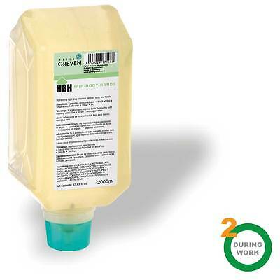 New  2. During Work - Active Hair Body Hands Cleanser - 2000Ml