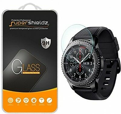[2-Pack] Samsung Gear S3 Frontier Tempered Glass Screen Protector, (Updated