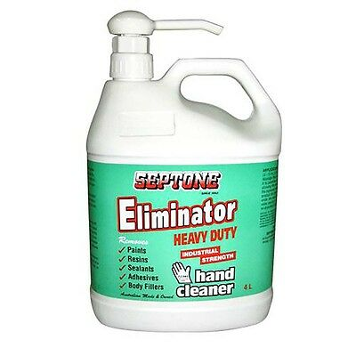 New  Septone Eliminator Hand Cleaner 4L