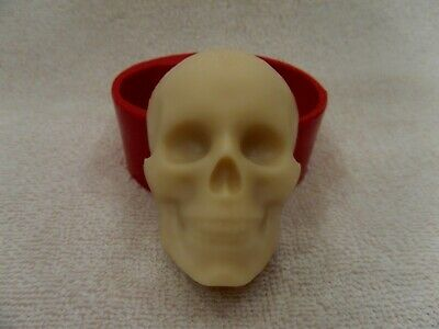 """""""Skull"""" silicone mold for soap and candles making mould molds halloween"""