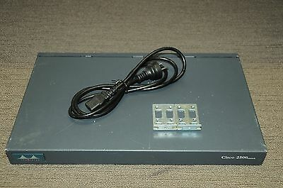 Cisco AS2509-RJ 8-Port RJ45 Access Server Router w/ 8 Console Rollover Cables