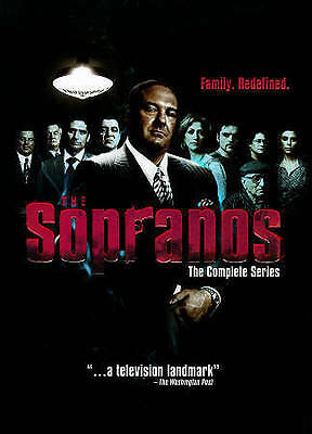 The Sopranos - The Complete Series (DVD, 2014, 30 Disc ) New