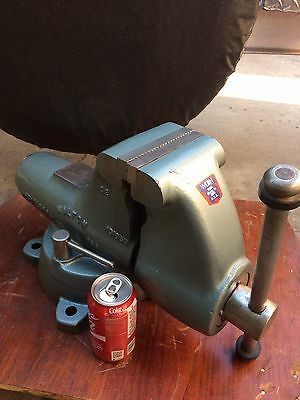 """Wilton 5"""" Combination Pipe & Bench Vise W/ Swivel Base Model C2 New Old Stock"""