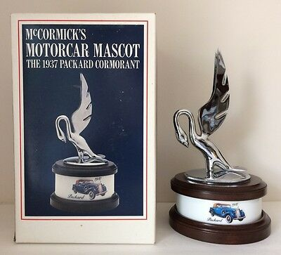 1937 Packard Cormorant Hood Ornament Decanter McCormick Distilling Company