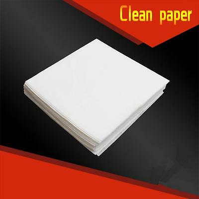 90 pcs Anti-static Lint-free Wipes Dust Free Paper Fiber Optic Tools