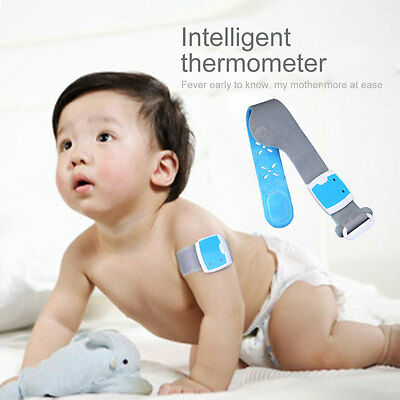 Smart Wireless Bluetooth Thermometer Body Temperature Monitoring Fever