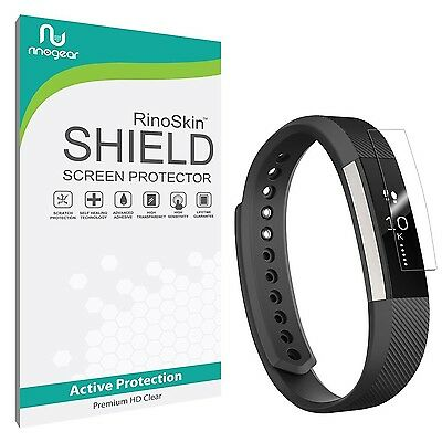 [7-PACK] Fitbit Alta Screen Protector RinoGear Military-Grade Clear Shield