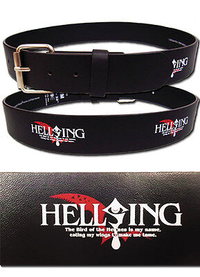 "*NEW* Hellsing: Ultimate Log PVC (M/L) 33""-37"" Belt by GE Animation"