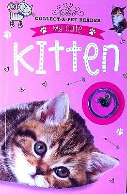 My Cute Kitten | Collect a Pet Reader | Book with Fun Facts & A Pet Pendant |New