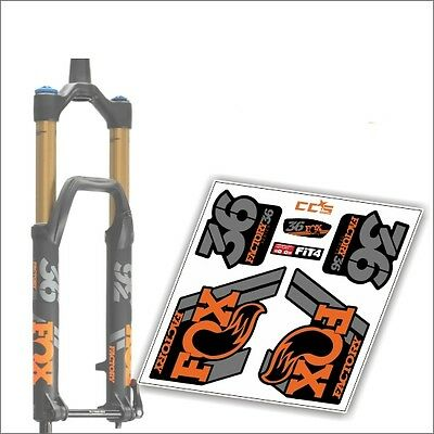 ROCK SHOX PIKE 2014 FORK Stickers Decals Graphics Mountain Bike Down Hill MTB