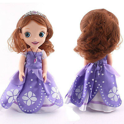New 12'' 30CM Lovely Princess Sofia The First Barbie Doll Toy Box Packing Gift #