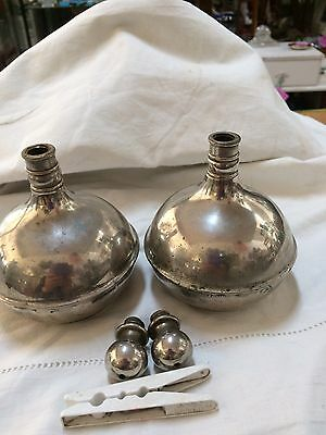Pair of Barber Shop Accessories  shaving collectable