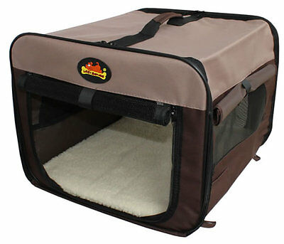 Canvas dog carrier / house / home (Lazy Bones). Waterproof, carry case, M/L/XL