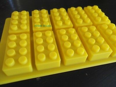 Brick Block Figure Silicone Chocolate Ice Cake Jelly Mold Mould Party Novelty