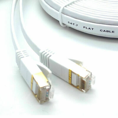 RJ45 High Speed Cat7 Ethernet Lan Network Cable UTP SSTP Patch for PC Laptop Lot