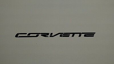 Corvette C7 2014-2018 Carbon Flash Rear Facia Lettering 22996232