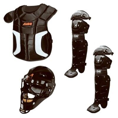 ALL-STAR CK912PS Player's Series Catcher's Kit,Black. Free Shipping
