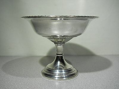 Vintage - P.S. CO.  STERLING SILVER -  Compote / Candy Dish - PREISNER SILVER CO
