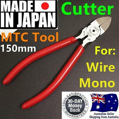 "Japan Made 6"" 15cm Cutter Plier Wire Mono Plastic Tube Tool  Game Fishing MTC-22"