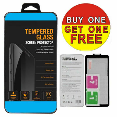 2Pk 100% Genuine Tempered Glass Film Screen Protection Apple Iphone 8