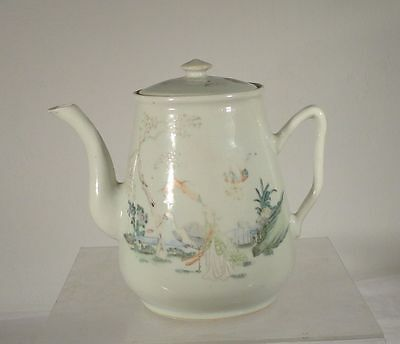 Antique Chinese Republic Period 19th Century Teapot Cultural Revolution Damage