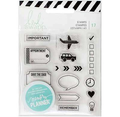 Heidi Swapp Memory Planner Clear Stamps Icons 718813151337