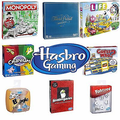 New 2018 Hasbro Board Game Range // Games For Family Children Adults Party