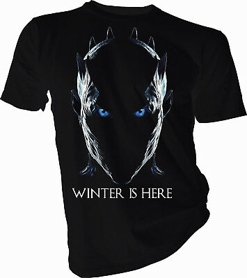 Game of Thrones, Winter is Here, Night King, Adult & Kids T-Shirt