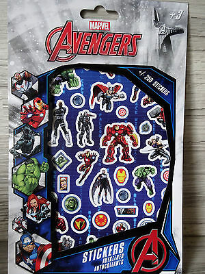 Avengers-- Sticker--ca. 250 Marvel Aufkleber/Stickers-- Hulk, Thor, Iron Man (2)