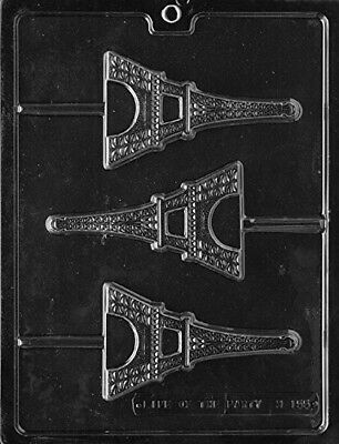 Eiffel Tower Lollipop Sucker Chocolate Mould Soap Mould SHIPS SAME DAY! m137