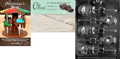 Cybrtrayd 'Boxing Glove Lolly' Sports Chocolate Candy Mould with 25 11cm