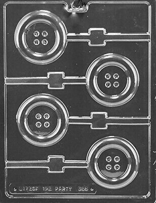 Baby Button Lollipop Sucker Chocolate Mould Soap Mould SHIPS SAME DAY! m149