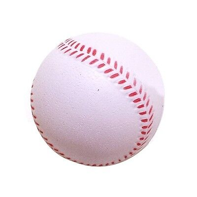 B1ST Practise Baseballs Softballs Rubber Trainning Sporting Batting Soft ball Wh