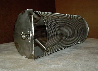 Made In USA  5 Lb Capacity Coffee Roaster for Bbq Grill Peanut Chile Cacao