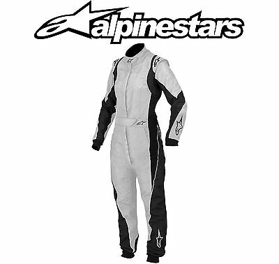 Alpinestars Stella GP Pro Race Suit, FIA Approved, Silver, EU48 Ladies, Rally