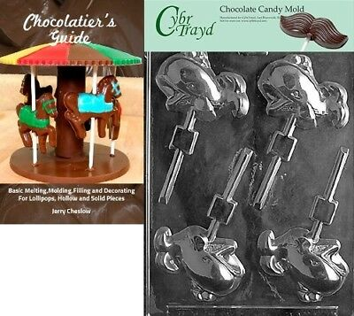 """Cybrtrayd """"Whale Lolly"""" Nautical Chocolate Candy Mould with Chocolatier's"""