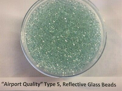 Airport Quality Reflective Glass Beads 1 pound