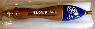 Vintage Miller Lite Brewers Collection Blonde Ale Tap Handle New Old Stock