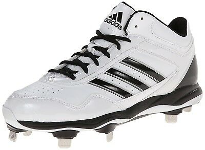 (12.5 D(M) US, Ftwr White/Black/Metallic Silver) - adidas Performance Men's Exce
