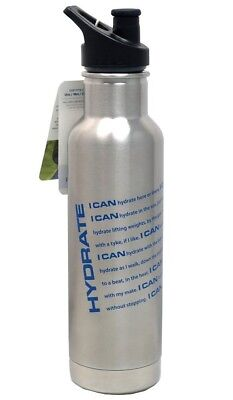 Klean Kanteen Insulated 590ml Stainless Steel (18/8) Water Bottle With Sport