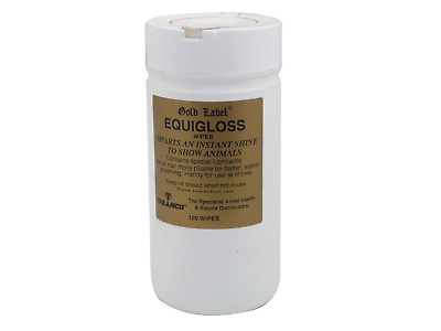 Gold Label - Equigloss Toallitas Paquete 100